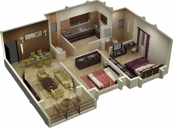 Progettazione interni 3d tassonedil for Progettazione mobili 3d