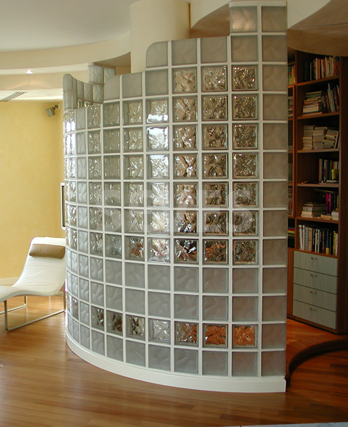 Pareti in vetrocemento: praticità e design - TASSONEDIL