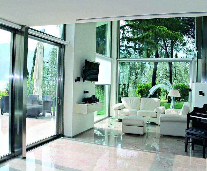Tutto vetro le soluzioni per le finestre di grandi - Vetri termici per finestre ...