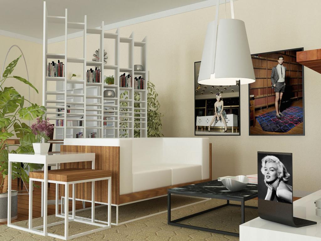 Arredare una casa piccola soluzioni di stile tassonedil - Arredare monolocale ikea ...