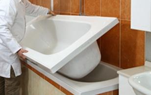 Una nuova vasca in modo facile e semplice tassonedil - Smaltare la vasca da bagno ...