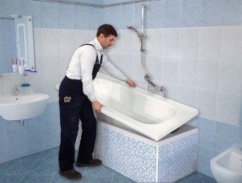 Una nuova vasca in modo facile e semplice tassonedil - Vasca da bagno circolare ...
