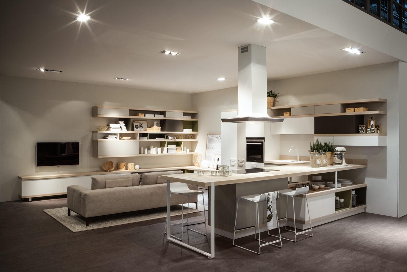 Estremamente Cucine che si ampliano verso il soggiorno - TASSONEDIL AO15