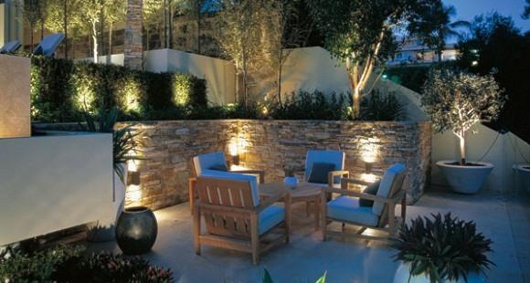 Illuminazione a pavimento per esterni decorazioni per la casa