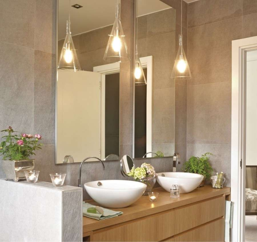 Lampade Per Bagno Da Specchio.Luci Per Il Bagno Soluzioni Di Design Tassonedil
