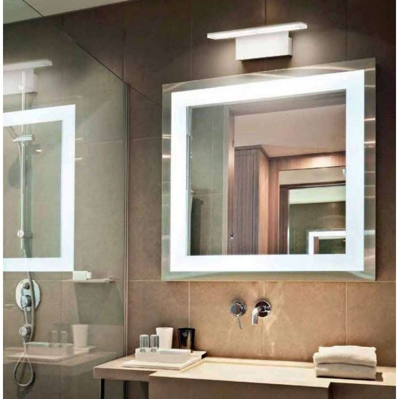 Luci per il bagno soluzioni di design tassonedil for Luci bagno design