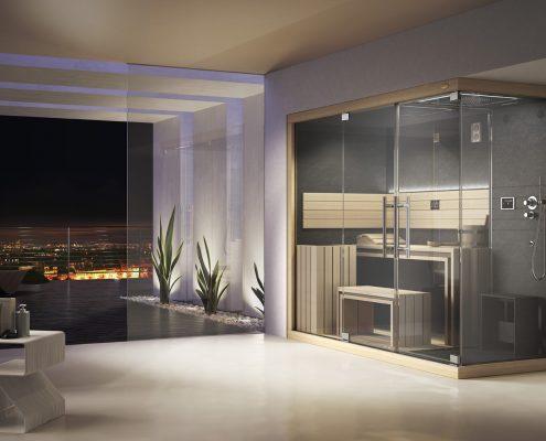 Sauna per una spa domestica