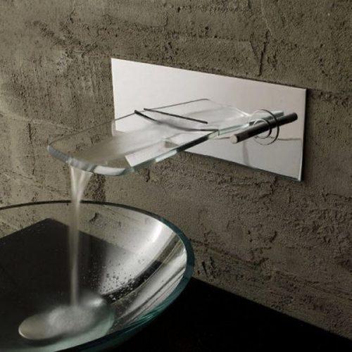 rubinetti in vetro